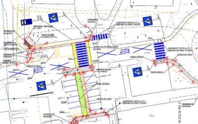 Ureditev prometnih površin v centru Prebolda