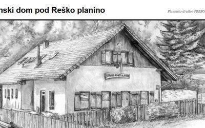 Razpis za najemnika Planinskega doma pod Reško planino
